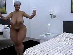 gigantic mama dance cgi