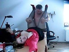 Chefe quente foda-se seu Secretário(GETLaid24-com)