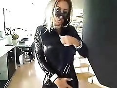 German striptease on webcam - more videos on sexycams8 org