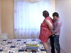 BBW Grandma MAID LOVE HUGE COCK