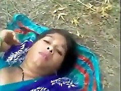 Bangladeshi maid outdoor lovemaking with neighbor