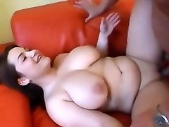 Lovely Chubby girl having titties sucked and fucked