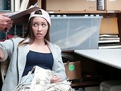 Shoplyfter - Ultra-cute Teen Screws Her Way Out Of Trouble