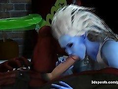 Copycat en Deadpool neuken de hele nacht in een druipend natte kut gevuld tijd
