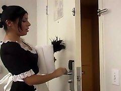 Sativa Rose jako pokojówka pieprzy trudno