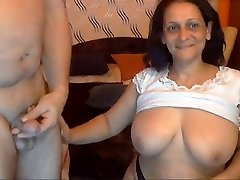 Sexy Indian Granny with her Spouse