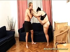 la grasa extrema flexible houswife