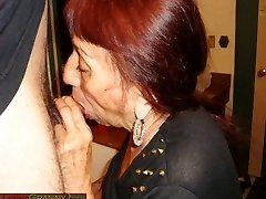 LatinaGranny babica blowjob pripravo