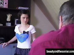 Mlada devica Veronica gets zajebal s starimi Harry