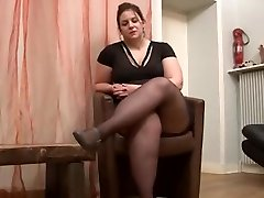 sexy BBW goes to audition