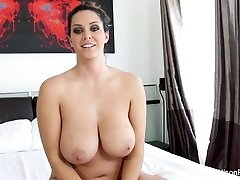 Interview with busty sweetie Alison Tyler