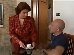 Super-fucking-hot Huge-chested Mature Seduces Her Well-Built Repairman