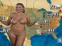 裸体天气的女孩
