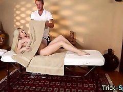 Tattooed honey massaged