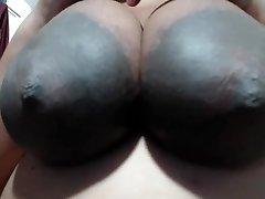 STORT AREOLAS Tipi-Lady älskar MIN N-gg-r Bollar