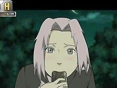 Naruto Πορνό - Καλό βράδυ να γαμήσω Sakura