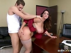 Brazzers - Alison Tyler has a little office joy