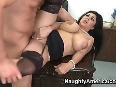 Jaylene Rio & Charles Dera en Naughty Office
