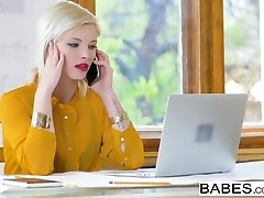 babes - office besettelse - zazie skymm - quic