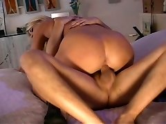 Uber-sexy MILF Vicky Vette riding dick