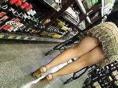 Candid Modne Truse - Stor Rumpe Voyeur - Bendover Ass