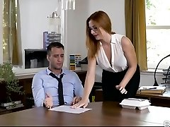 eva berger v nahý obed - officeobsession
