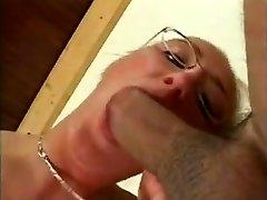 Big Tits German MILF Wearing Glasses