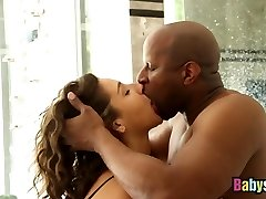 abella briesmas gagging par big black dick pirms fucked