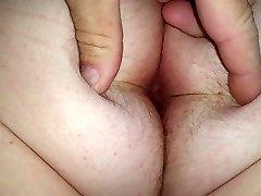 velika bijela hairy šupak &амп žene; stražnjice
