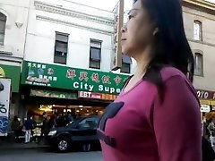 BootyCruise: Chinatown Bus Stop Cam-6 - Cam MILF