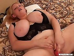 BBW Tammy Young Plumper woman in anal action