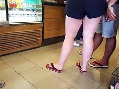 our holiday friends, ass massaging public