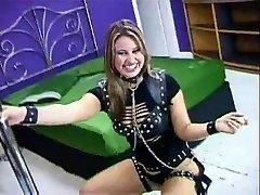 Catia Carvalho e 니나 디아스-레즈비언 브라질