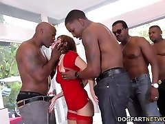 B-day Gang-bang with Sexy Mom Alana Cruise