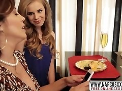 Selfassured Step-Mommy Jillian Janson And Francesca Le In Three Way