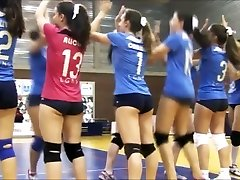 SWEETS butt SWEETS cameltoe on volleyball