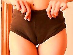 라운드 엉덩이 소녀 댄스! 선이 있 n 하드 라운드 엉덩이!