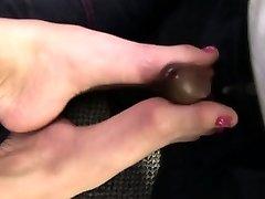 Blonde sole fucking babe