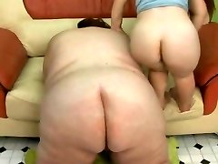 Lucky Dude Fucks the SSBBW and The MIDG3T