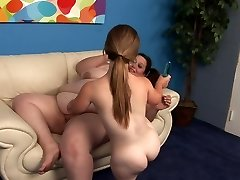 Lesbian seji z škrata in fatie