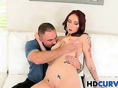 Hard manmeat for curvy Carmen Capri