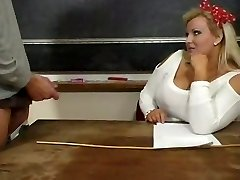 Super Hot Mature BBW Teacher Kirsten Halborg