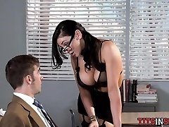 Torrid for Big Tit Teacher