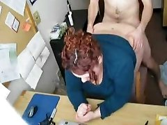 Fucking my Horny Fat BBW Assistant on Covert Cam