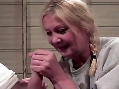 Mature Ash-blonde Gets A Hard Boning
