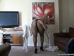 팬티 스타킹 마사지 큰 엉덩이에서 여성 스타킹