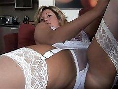 Store bryster erotiske jente creampie knulle