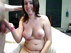 Amateur Cam Sex And Cream Pie