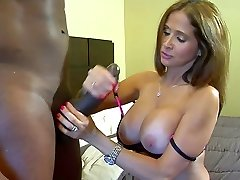 Hot milf multiracial fuck with black cock