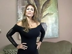 Exotic pornstar Monique Fuentes in incredible creampie, big butt bang-out clip